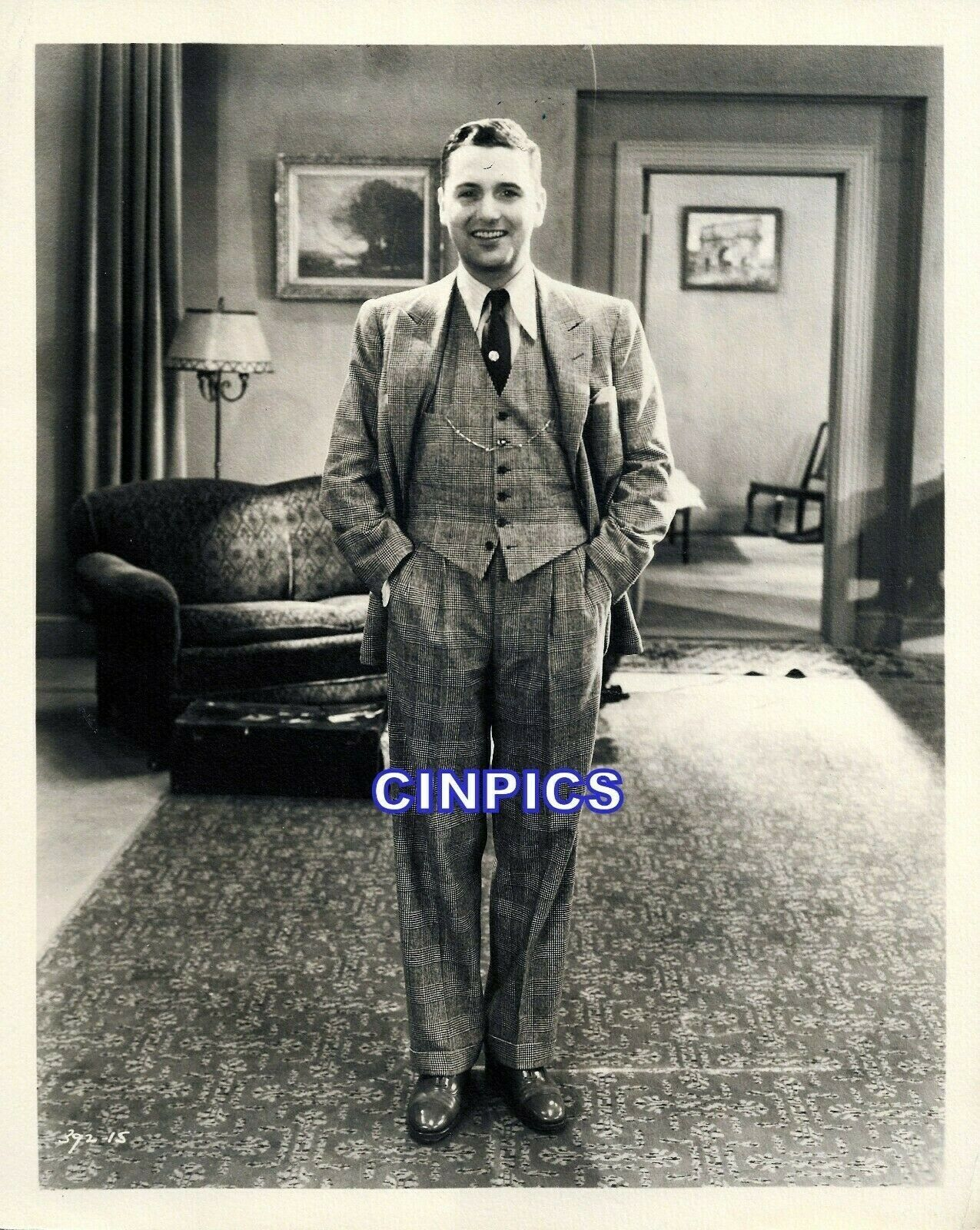 CHARLES KING-DBL WEIGHT VINTAGE ORIGINAL 8X10 SEPIA COLOR-MUSICAL STAR - $19.95