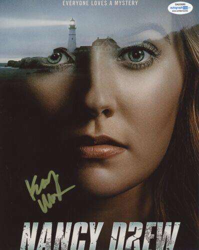 Kennedy McMann Nancy Drew Autographed Signed 8x10 Photo ACOA