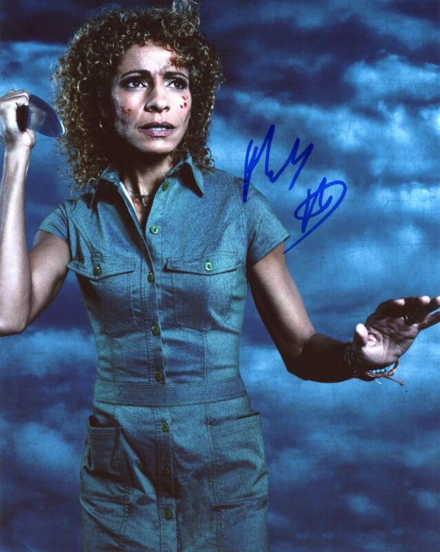 "Michelle Hurd ""Ash vs. Evil Dead"" AUTOGRAPH Signed 8x10 Photo"