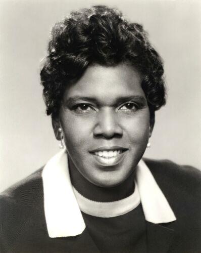 BARBARA CHARLINE JORDAN-Politician-Civil Rights Leader-Lawyer-8x10 PHOTO