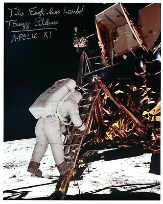 NASA Apollo 11 Astronaut Buzz Aldrin