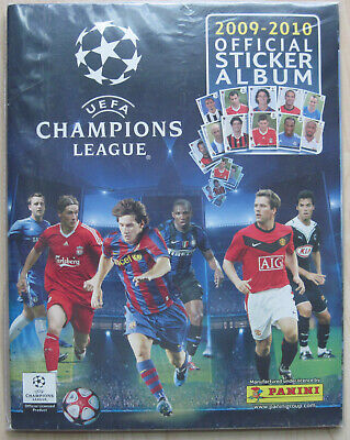 PANINI - Champions League 2009/2010 *** KOMPLETTES SAMMELALBUM ***
