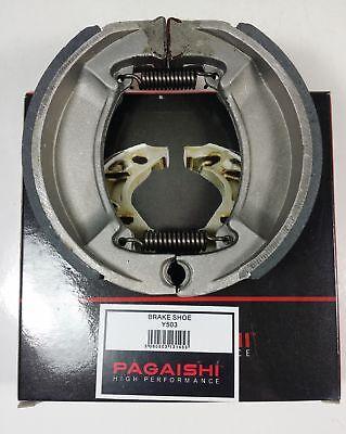 PAGAISHI REAR BRAKE SHOES Yamaha CW 50 RS NG BWS 5JK3 2000 C/W SPRINGS