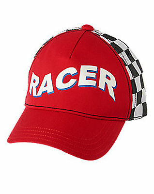 Gymboree RACECAR DRIVER HAT for Costume Baby Infant Boys 6 - 12 months NEW!