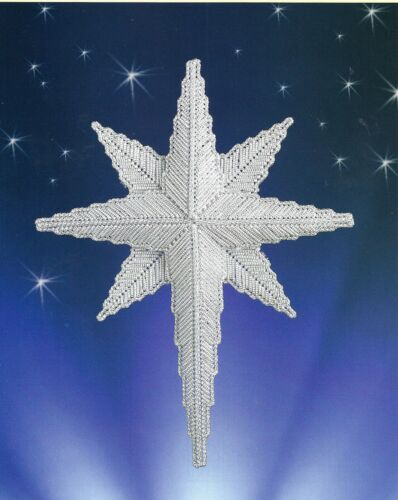 **SHINING STAR TO STITCH**PATTERN ONLY**PLASTIC CANVAS PATTERN**