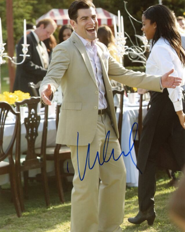 """Max Greenfield """"New Girl"""" AUTOGRAPH Signed 'Schmidt' 8x10 Photo"""