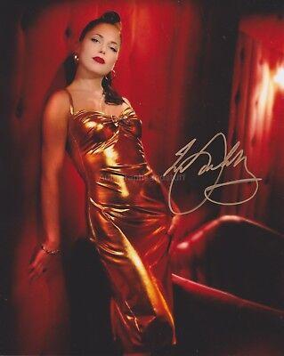 Imelda May HAND SIGNED 8x10 Photo, Autograph, Love Tattoo, Mayhem, Tribal (C)