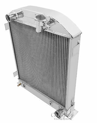 Chevy Mopar Config 3 Row All Aluminum Champion DR Radiator CC1009