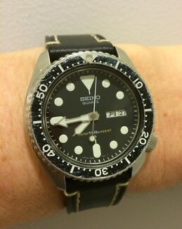 WTB: old Seiko watches - divers,chronographs etc Hobart CBD Hobart City Preview