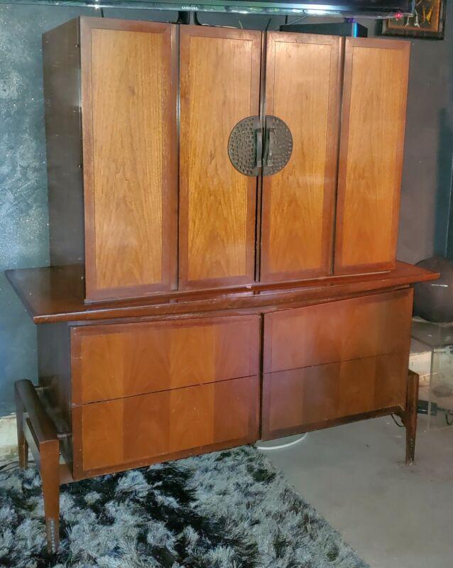 Rare Mid Century Helen Hobey Baker Tall Dresser