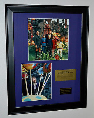 Willy Wonka & the Chocolate Factory Gene Wilder autograph collection COA blu-ray