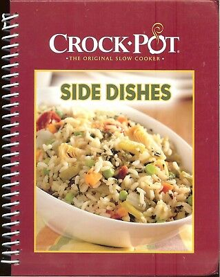 Crock Pot   The Original Slow Cooker Side Dishes   50 Favorite Recipes  Hb