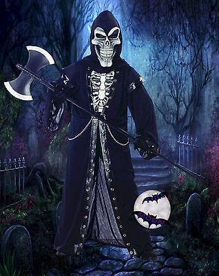 New Grim Reaper Crypt Master Boys' Halloween Costume
