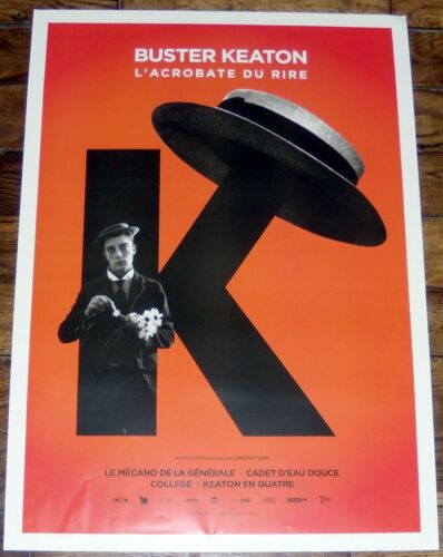 BUSTER KEATON 2017 retrospective silent movie SMALL french POSTER