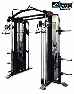 Functional Trainer / Smith & 130kg Steel Stack Commercial NEW