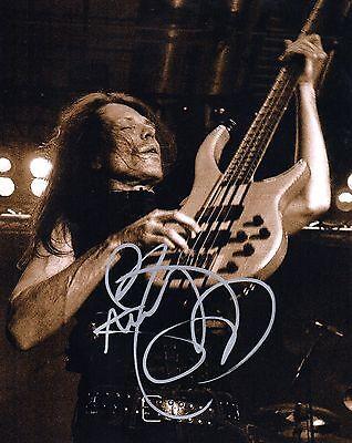 Gfa Quiet Riot Bassist   Rudy Sarzo   Signed Autograph 8X10 Photo Ad1 Coa