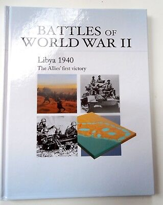 """Libya 1940 - The Allies First Victory"" Osprey's Battles of WW II Book 5"