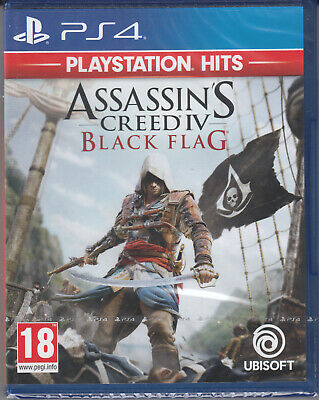 Assassin's Creed IV 4 Black Flag PS4 Brand New Factory Sealed Assassins