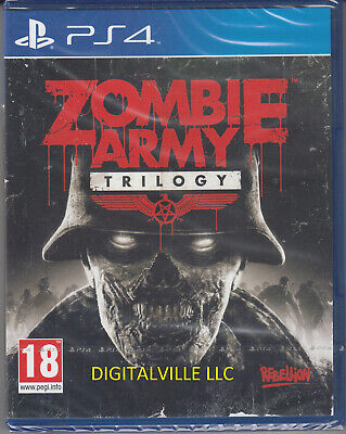 Zombie Army Trilogy PS4 Brand New Factory Sealed