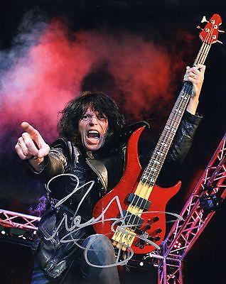 Gfa Quiet Riot Bassist   Rudy Sarzo   Signed Autograph 8X10 Photo R1 Coa