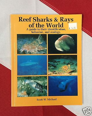 reef sharks &rays of the world book id guide scuba diving snorkeling equipment
