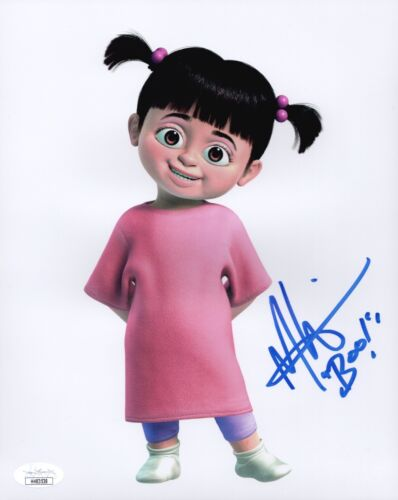 MARY GIBBS Signed MONSTER'S INC BOO 8x10 Photo In Person Autograph JSA COA Cert
