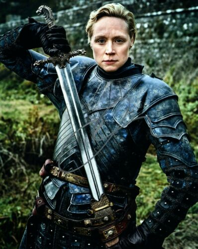 Gwendoline Christie Game of Thrones Autographed Signed 8x10 Photo COA #B29