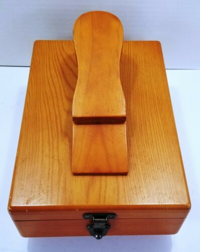 Wood Shoe Shine Box - Vintage?