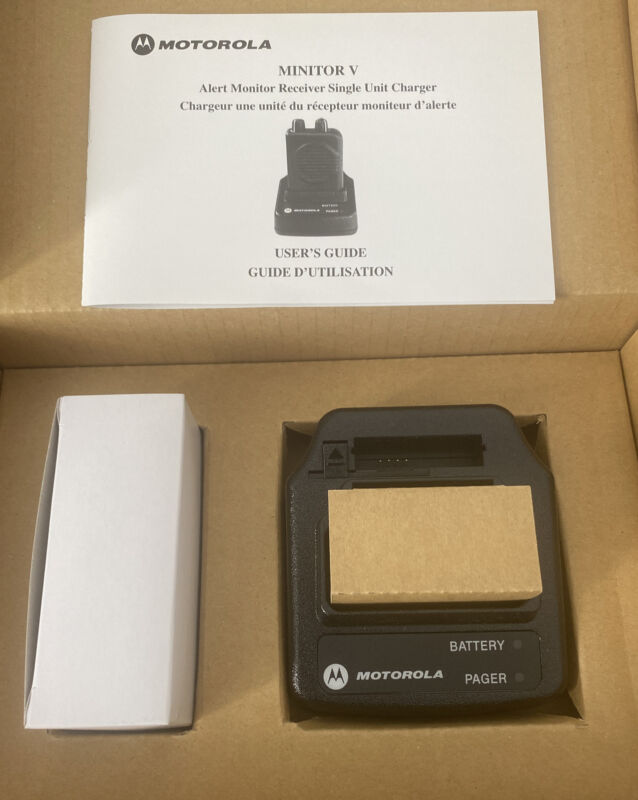 Motorola Minitor V Charger
