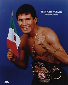 Julio Cesar Chavez Mexico EL Gran Campeon Reproduction ...