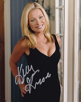 Kelly Ripa Signed 8X10 Color Photo