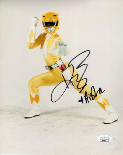 Karan Ashley Autograph Signed 8x10 Photo - Power Rangers (JSA COA)