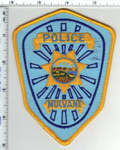Mulvane Police (Kansas) Shoulder Patch - new style from the 1980