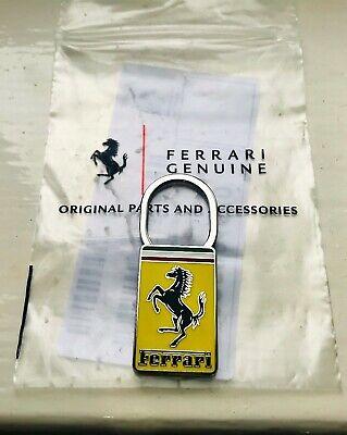 OEM Genuine Ferrari Key ring chain emblem badge bonnet yellow F355 F40 F430 360