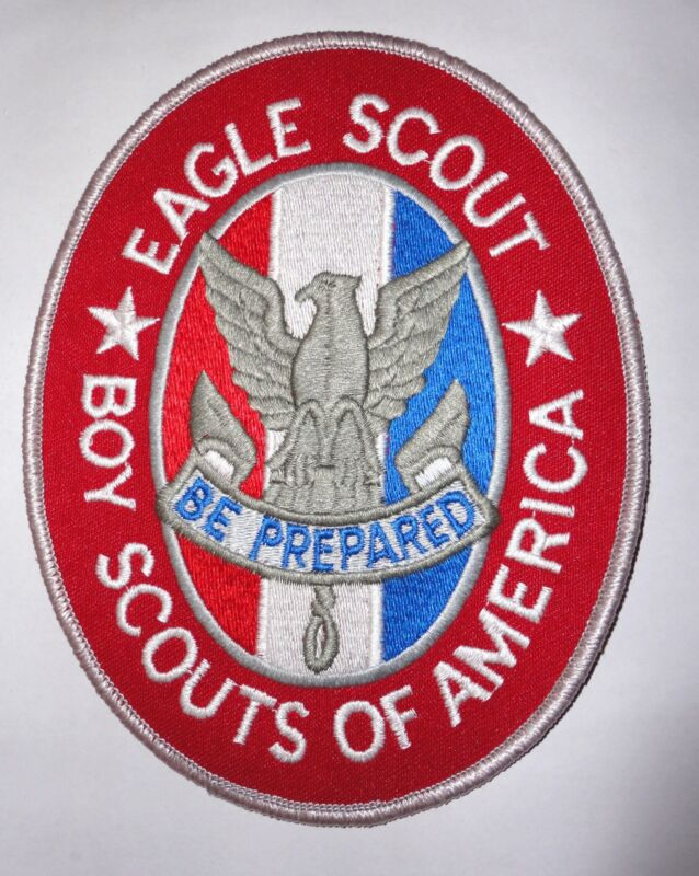 """Boy Scouts of America 6""""x4"""" Eagle Scout Jacket Patch - Order of the Arrow"""