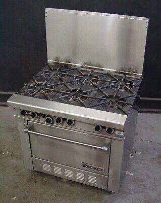 Garland Range H286 Nat Gas 6-burner Range With Standard Oven