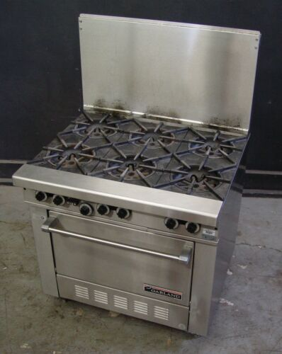 Garland Range H286  Nat Gas 6-Burner Range with Standard Oven