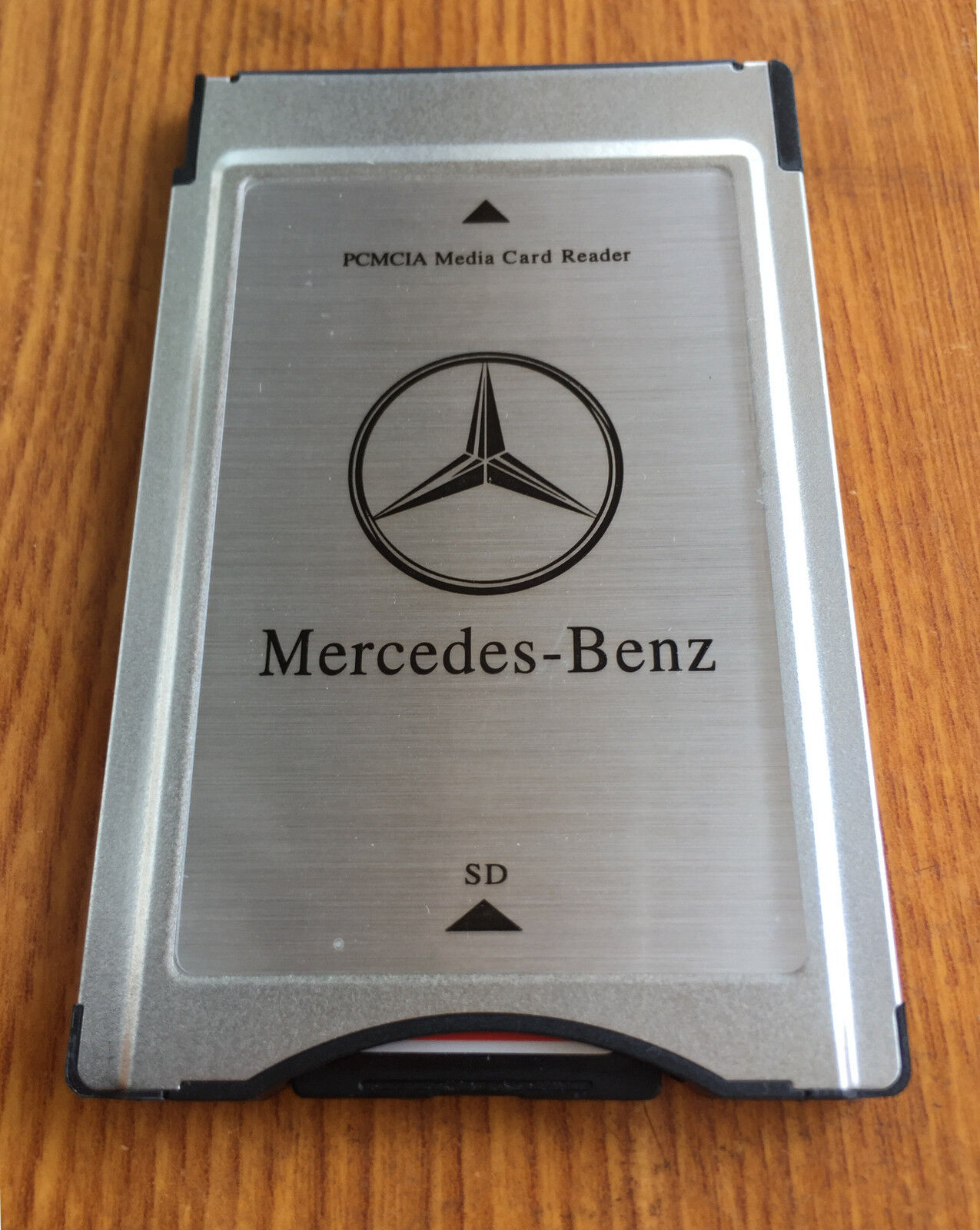 Pcmcia to sd pc card adapter 16gb sdhc memory card for Mercedes benz card
