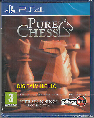 Pure Chess PS4 PlayStation 4 Brand New Factory Sealed