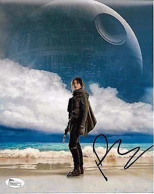 Felicity Jones Rogue One Autographed Signed 8X10 Photo Jsa Coa  3