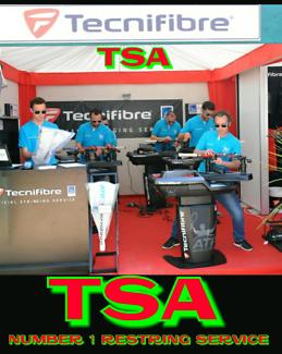 TSA  RACKET   RESTRINGS TENNIS SQUASH BADMINTON CHEAPEST  IN SA