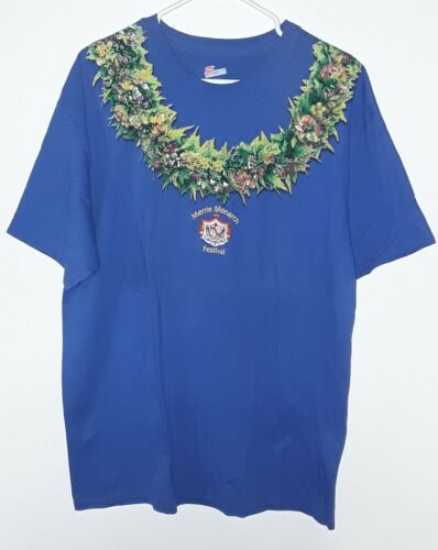 NEW 42nd Merrie Monarch Hula Festival Hilo Hawaii 2005 Large T-shirt