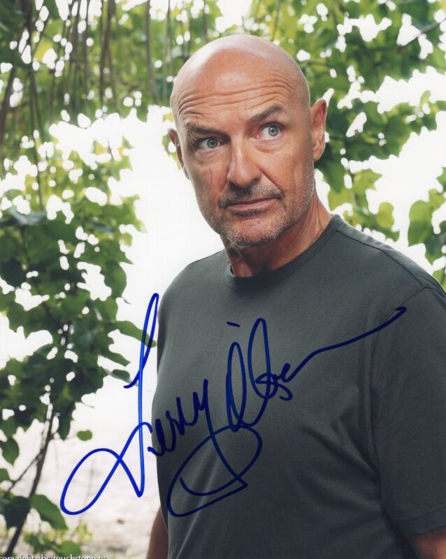 Terry O'Quinn Lost Signed 8x10 Photo w/COA