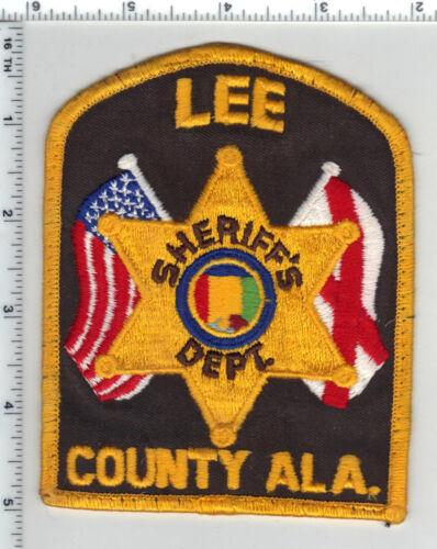 Lee County Sheriff