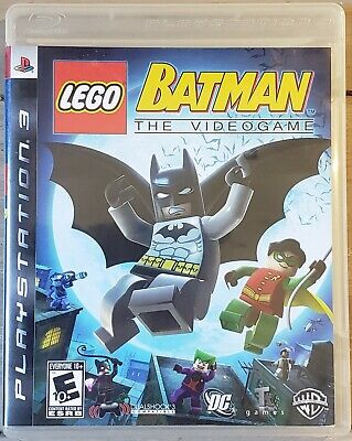 LEGO Batman: The Videogame (Sony PlayStation 3 PS3, 2008) CLEANED AND TESTED