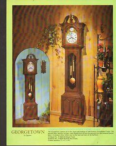 vintage spartus clock ad