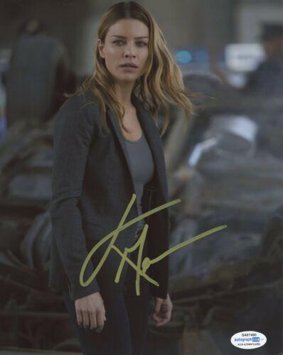 Lauren German Lucifer Autographed Signed 8x10 Photo ACOA