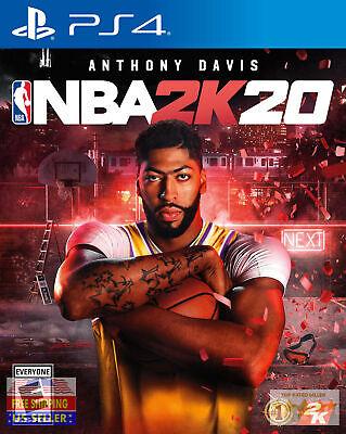 NBA 2K20 PS4 (SONY PLAYSTATION 4, 2019) BRAND NEW! SEALED!