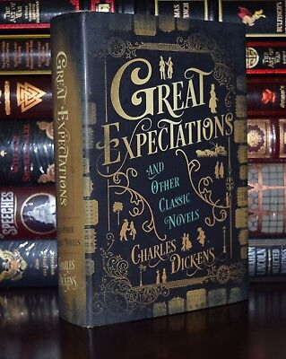 Great Expectations Oliver Twist Cities by Charles Dickens New Deluxe Hardcover