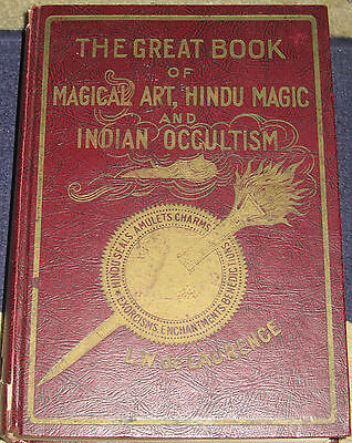 The Great Book of Magical Art, Hindu Magic & Secret Hindu Ceremonial Magic 1939 on Rummage